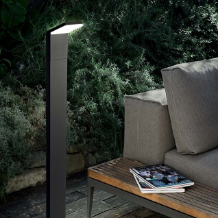 Ideal Lux LED Stehleuchte Style IP54 Anthrazit 209906