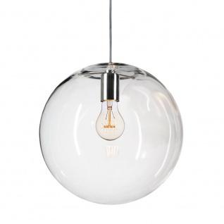 s.LUCE Mylight Orb XL / Pendelleuchte Ø 40 cm / Klar / Pendellampe Glaslampe - Vorschau 2