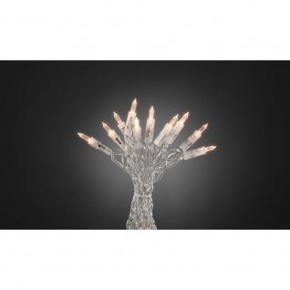"""Konstsmide 6300-123 LED Minilichterkette """" One String"""" mit Schalter 10 warmweisse Dioden für Innenbereich"""
