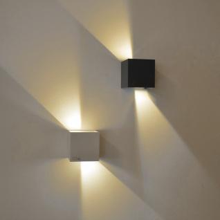 s.LUCE pro Ixa LED Wandleuchte + verstellbare Winkel Wandlampe weiss - Vorschau 4