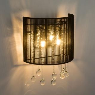 LED Wandleuchte Sierra Chrom, Silber-Metallic, Klar