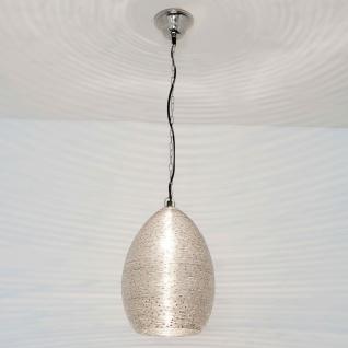 Holländer 297 1405 Pendelleuchte Colibri Stahldraht Vernickelt Silber