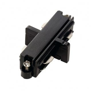 SLV Längsverbinder für 1-Phasen HV-Stromschiene schwarz elektrisch 143090