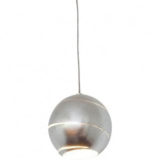 Holländer 300 K 1452 SKOM Pendelleuchte Suopare Eisen Silber