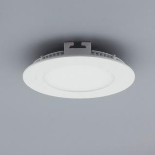 Licht-Design 30388 Einbau LED-Panel 480lm Dimmbar Ø 12cm Warm Weiss