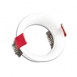 Einbaustrahler Slim rund für GU10 MR16 Weiß