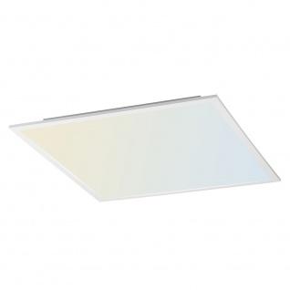 Licht-Trend Q-Flat 62 x 62cm LED Deckenleuchte 2700 - 5000K Weiß Deckenlampe