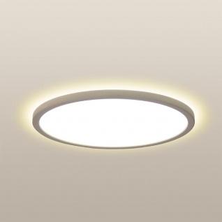 LED Deckenleuchte Board 42 Direkt & Indirekt 2700K Dimmbar per Schalter Weiß Deckenlampe Superflach
