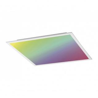 Licht-Trend Q-Flat 45 x 45cm LED Deckenleuchte RGBW + Fb. Weiß Deckenlampe