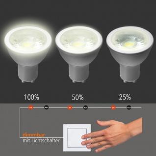 GU10 LED-Leuchtmittel 5W dimmbar per Schalter 400lm 3000K