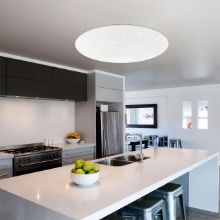 Connect LED Deckenlampe Kristalleffekt 5400lm RGB+CCT