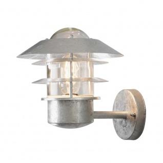 Konstsmide 7303-320 Modena Aussen-Wandleuchte galvanisierter Stahl klares Glas