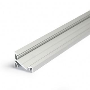 Aufbau-Eckprofil 30° 200cm Alu-eloxiert für LED-Strips