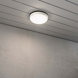 Konstsmide 7974-250 Cesena LED Aussen-Wand- & Deckenleuchte Weiß opales Acrylglas