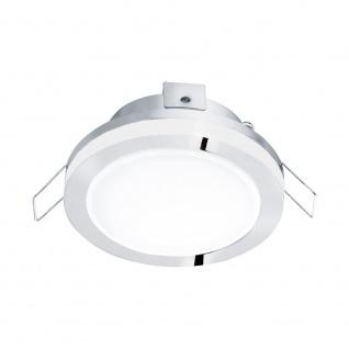 Eglo 95962 Pineda 1 LED Einbauspot 500lm Chrom Weiß