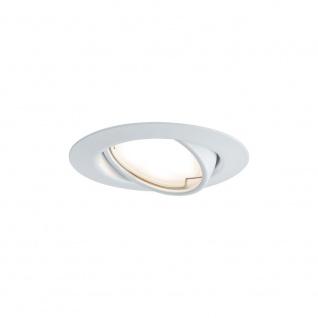 Paulmann LED Einbauleuchte Base rund Weiß 93413