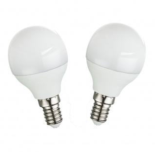 2er-Set E14 LED Leuchtmittel Opal 250lm 3W 3000K
