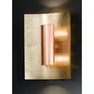 Kögl 98123 Aura Gold Wand- & Deckenleuchte 2-flammig Kupfer 30cm