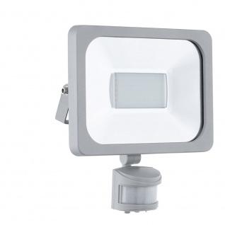 Eglo 95409 LED Sensor Aussenstrahler Faedo 1 30W 2750lm Silber