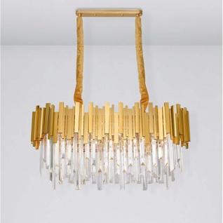Nova Luce Kronleuchter Grane aus Metall Gold