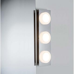 WallCeiling Doradus IP23 LED 3x5W Chrom 230V Metall/Kunststoff
