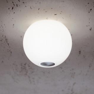 Casablanca Ball Deckenleuchte Aluminium matt gebürstet Deckenlampe