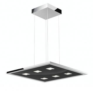 Evotec 11096 Designline LED Pendelleuchte + Fb. 6 x 4 W 1935lm 2700-5700K Chrom