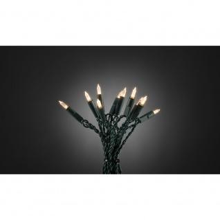 LED Minilichterkette One String mit 8 Funktionen 140 Warmweiße Dioden für Innen