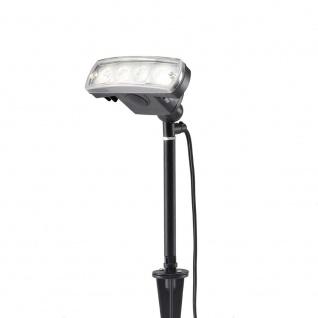 Konstsmide 7646-000 Amalfi LED Erdspießleuchte 1-flg. 12V Schwarz
