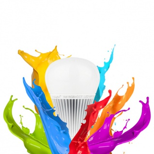 s.LUCE iLight E27 LED-Leuchtmittel 9W Alexa Kompatibel RGB + CCT LED-Lampe Farbwechsel & Dual White - Vorschau 3