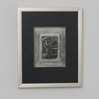 Holländer 306 3150 S Wandbild Immagine 1 Holz-Glas-Kunststein Silber-Schwarz