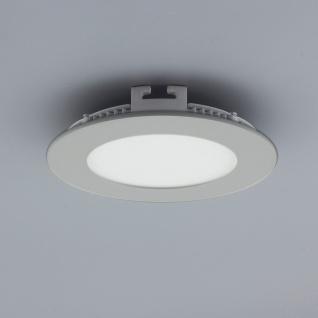 Licht-Design 30842 Einbau LED-Panel 200lm Dimmbar Ø 9cm Neutral Silber