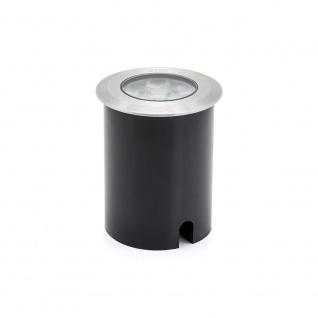 Konstsmide 7951-310 High Power LED Bodeneinbaustrahler klares Glas