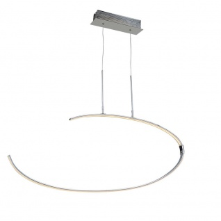 Wofi Lex LED Pendelleuchte Chrom Pendellampe