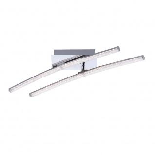 LeuchtenDirekt 11290-17 Simon LED Acryl Deckenleuchte 2x 5W 3000K Chrom - Vorschau 2