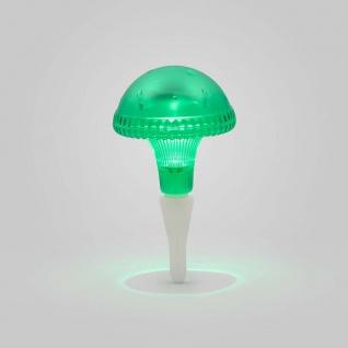 Assisi Pilz Solar LED Leuchte Grün Solar Gartenlampe Gartenleuchte - Vorschau 3