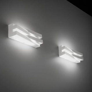 Panzeri Cross LED-Wandleuchte 60cm 4680lm Weiß Designer Wandlampe