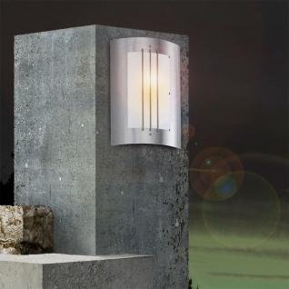 ORLANDO Außen-Wandleuchte Edelstahl Hochwertige Wandleuchte Wandlampe Aussen - Vorschau 4