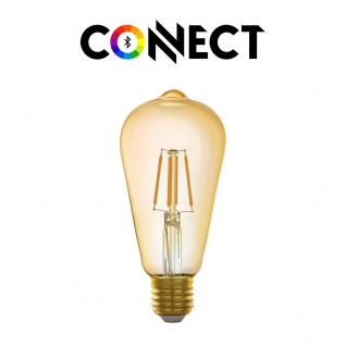 Connect E27 LED Leuchtmittel 500lm Warmweiß
