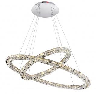 LED Hängeleuchte MARILYN, chrom 64xLED / Hängelampe - Vorschau 1
