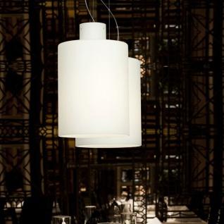 Casablanca Corpo C LED Pendelleuchte Einzelpendel Aluminium gebürstet Pendellampe