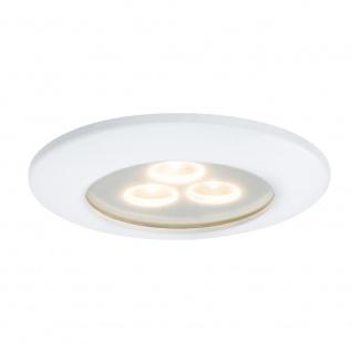 Paulmann Premium EBL IP65 Pearly LED 3x7, 5W 27VA 100mm Weiß Alu 92686