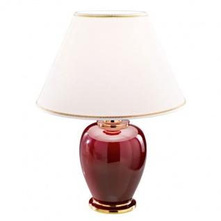 Kolarz Giardino-Bordeaux Tischleuchte Gold Tischlampe