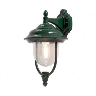 Konstsmide 7222-600 Parma Aussen-Wandleuchte Grün klares Acrylglas