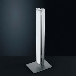 Helestra LED Tischleuchte Venta Nickel-Matt Chrom