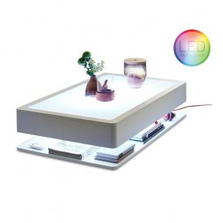 Moree Ora Home LED Couchtisch Pro Weiß Tische