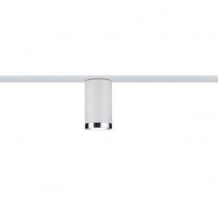 Paulmann URail LED-Spot 1x6, 5W Tube GU10 Weiß Chrom 95286