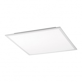 LeuchtenDirekt 14531-16 Flat LED Deckenleuchte + Fb. 1x 28W CCT Weiss