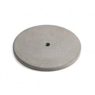 Outdoor Beton Bodenplatte ?45cm für Hue Structure Stehlampe