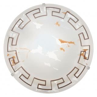 Eglo 82877 Twister Wand- & Deckenleuchte Ø 31, 5cm Motiv Antik Weiß - Vorschau
